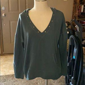 Light green hoodie shirt